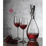 Juliette Decanter & 4 Wine Glasses Custom Engraved