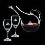 Promotional Medford Carafe & 2 Wine