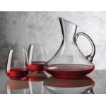 Bearden Carafe 4 Stemless Wine Glasses Custom Engraved