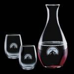 Promotional Riley Carafe & 2 Stanford Wine
