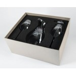 Personalized Exception Crystal Bar Set w/Decanter & 2 Rocks Glasses