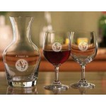 Tyler Tasting Set w/ Wine Carafe & 2 Wine Glasses Custom Imprinted