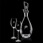 Juliette Decanter & 2 Wine Custom Engraved