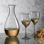 Riley Carafe & 2 Wine Glasses Logo Branded