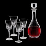 Personalized Bacchus Decanter & 4 Wine