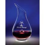 Logo Branded 46 Oz. Essence Crystal Wine Decanter