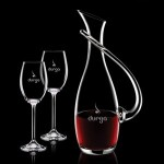 Promotional Uxbridge Carafe & 2 Wine