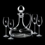 Personalized Horsham Decanter & 4 Wine