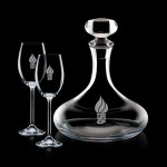 Personalized Stratford Decanter & 2 Wine