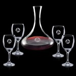 Custom Imprinted Yorkville Carafe & 4 Wine