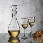 Custom Imprinted Carberry Decanter & 2 Wine Glasses