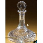 Waterford Crystal Lismore Ships Decanter Custom Imprinted