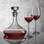 Custom Imprinted Stratford Decanter & 2 Wine Glasses