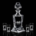 Logo Branded Oasis Shot Decanter & 4 Shots