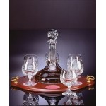 Trafalgar Brandy Set with Tray Custom Engraved