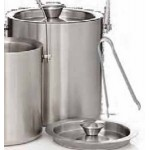 Personalized 3 Liter Stainless Steel Jamboree Deluxe Ice Bucket Set