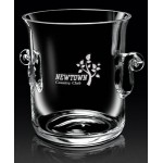"Custom Engraved European Crystal Legato Ice Bucket (8 1/2""x7""x6 1/4"")"