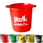 Personalized Plastic Ice Bucket