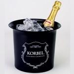 Personalized 6 1/4 Qt. Plastic Champagne Bucket