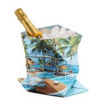 Custom Printed Origami Paper Ice Bucket