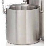 Promotional 2 Liter Stainless Steel Jamboree Deluxe Ice Bucket w/Tongs