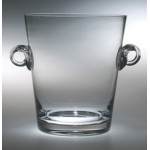 "Personalized Tuscan Sun Ice Bucket Award - Lead Crystal (9 1/4""x8"")"