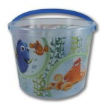 "Personalized 64 Oz. Plastic Bucket & Handle w/Full Color ""In Mold Labeling"""