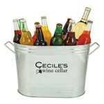 Custom Printed Country Home Cold Drinks Ice Bucket