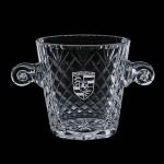 Personalized Medallion Ice Bucket