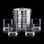 Custom Engraved Milano Ice Bucket & 4 Rexdale OTR