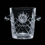 "Custom Engraved Cavanaugh Ice Bucket - 8"" High"