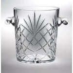 "Custom Engraved Raleigh Ice Bucket - Lead Crystal (9 1/4""x8"")"