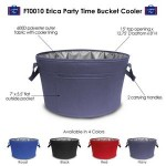Custom Imprinted Erica Party Time Bucket Cooler