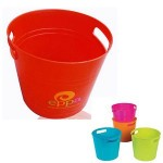 Promotional Plastic Party Pail Ice Bucket 6L