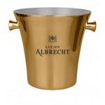 Promotional Elegant Stainless Steel (1-2 Bottle) Metal Ice Bucket