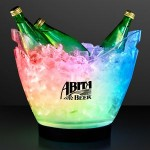 Custom Engraved Rechargeable LED Large Ice Buckets w/ Remote