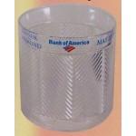 Custom Engraved Plastic Chevron Ice Bucket