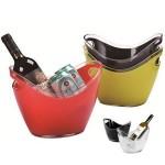 Custom Engraved Ice Bucket Clear Acrylic 2 Wine