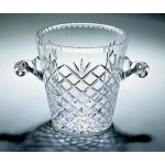 "Custom Engraved Montoya Ice Bucket - Lead Crystal (7 1/2""x7"")"
