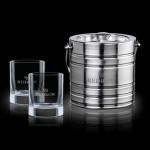 Custom Printed Milano Ice Bucket & 2 Rexdale OTR