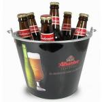 Custom Printed Full Color Ice Bucket/ Beer Bucket