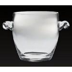 Custom Printed Lead-Free Crystal Ice Bucket