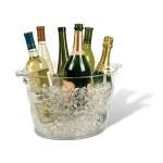 Custom Imprinted Monterey Jumbo Oval Acrylic Wine Cooler