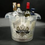 Custom Imprinted Large Size LED Ice Bucket