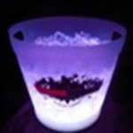 Custom Engraved LED Ice Bucket