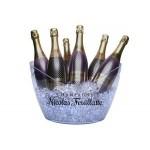 Custom Printed Large (4-6 Bottle) Acrylic Champagne Wine Ice Bucket