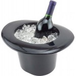 Top Hat Wine Bucket Logo Branded