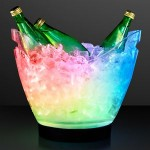 Promotional Rechargeable LED Large Ice Buckets w/ Remote