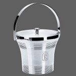 Personalized Rockport S/S Ice Bucket & Lid