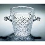 "Custom Engraved Montoya Ice Bucket - Lead Crystal (5 1/4""x8"")"